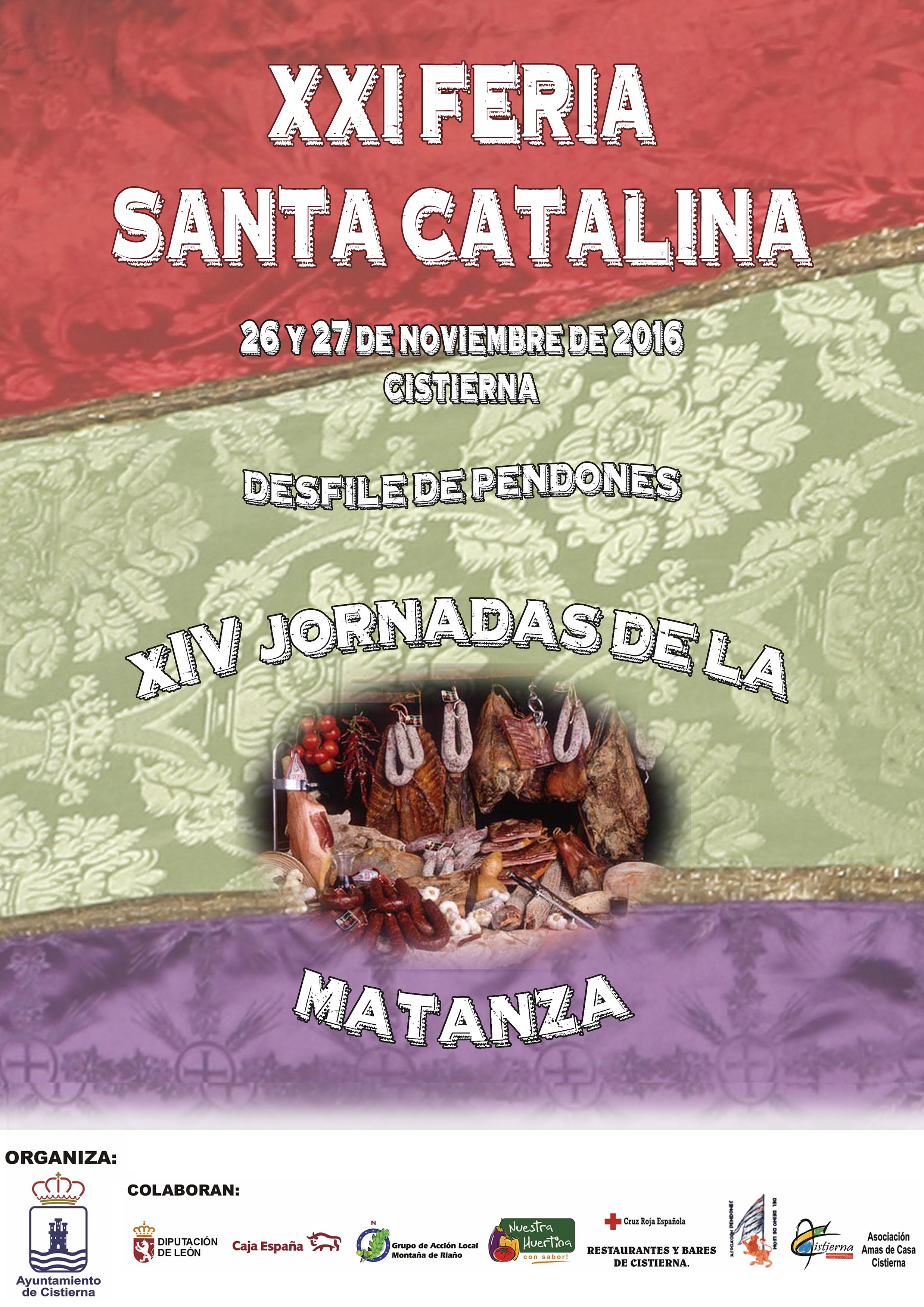 Cartel de la Feria de Santa Catalina 2016