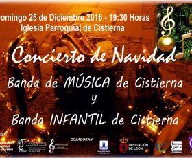 Concierto de Navidad de la Banda de Música de Cistierna