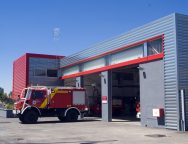 Futuro parque de bomberos de Cistierna