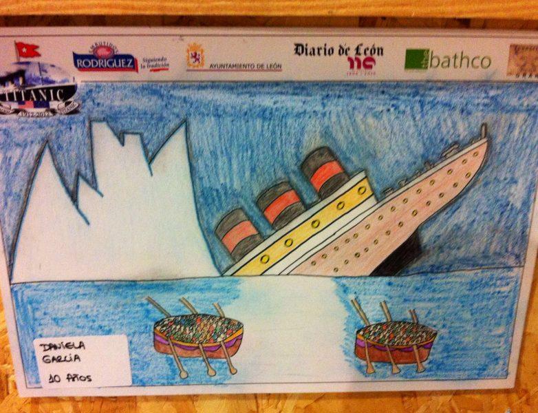 dibujo-titanic-solidario-daniela-garcia-primer-premio-leon