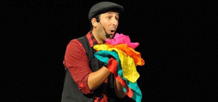 Actuación del mago «Fran Qué»