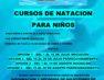 Cursos de natación gratuitos para niñas y niños a partir de 6 años