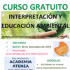 """Curso gratuito """"Interpretación y educación ambiental"""" (Inicio: 30 de diciembre)"""