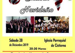 Concierto de Navidad de la Banda de Música de Cistierna (28 de diciembre)