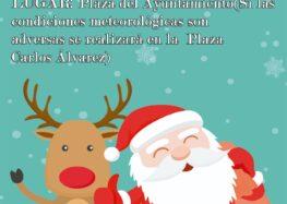 Visita de Papá Noel (24 diciembre)