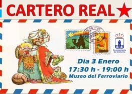 Visita del Cartero Real (3 de enero de 2020)