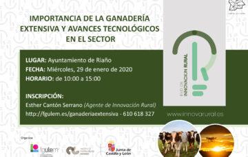Jornada en Riaño sobre «La importancia de la ganadería extensiva» (29 de enero)
