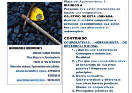 Jornada en Cistierna sobre sensibilización y formación en cooperativas (3 marzo)