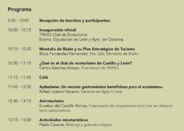 Jornada sobre Ecoturismo en León (Cistierna, 18 de febrero)