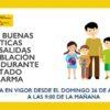 Guía de buenas prácticas en las salidas de la población infantil en el estado de alarma (26 de abril 2020)