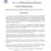 Bando nº 12 Covid-19: Fases desescalada (14 mayo 2020)
