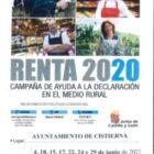 Campaña de ayuda a la declaración de la Renta 2020 en el medio rural